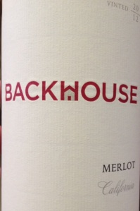 Backhouse Merlot 2012