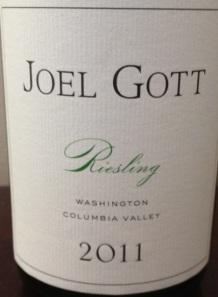 Joel Gott Riesling 2011